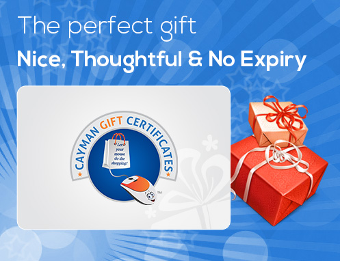 Cayman Gift Certificates